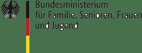 Logo des BMFSFJ (Bundesministerium für Familie, Senioren, Frauen und Jugend)