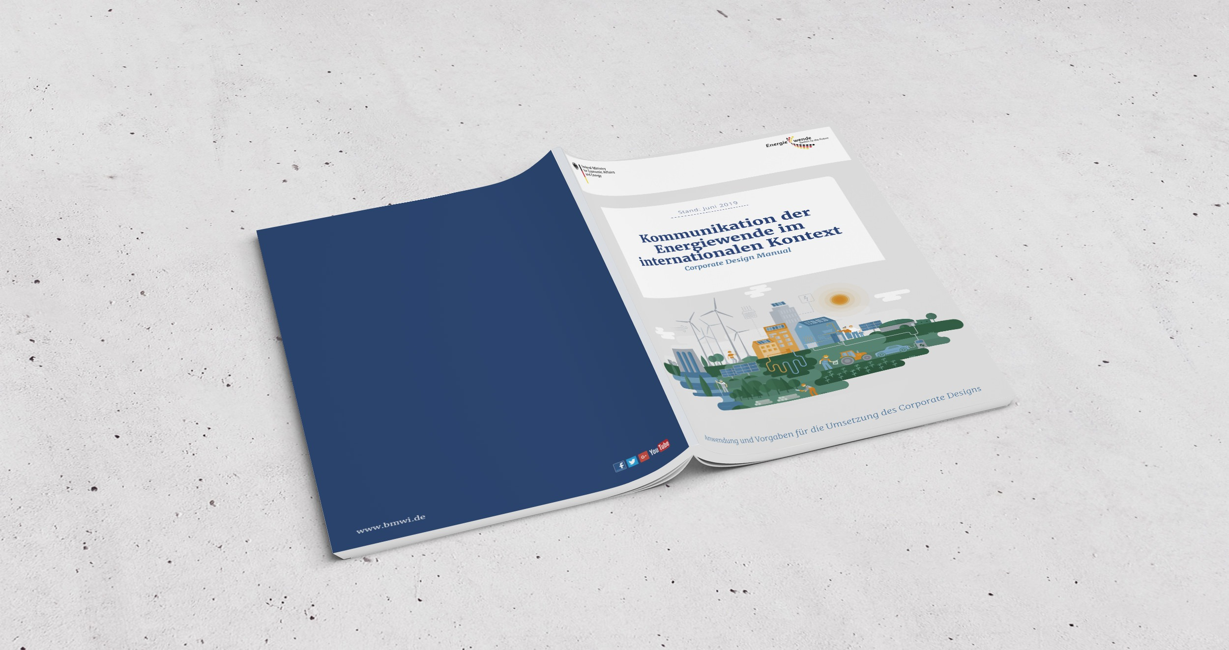 BMWi – CD-Manual Energiepartnerschaften | Editorial Design, Corporate Design