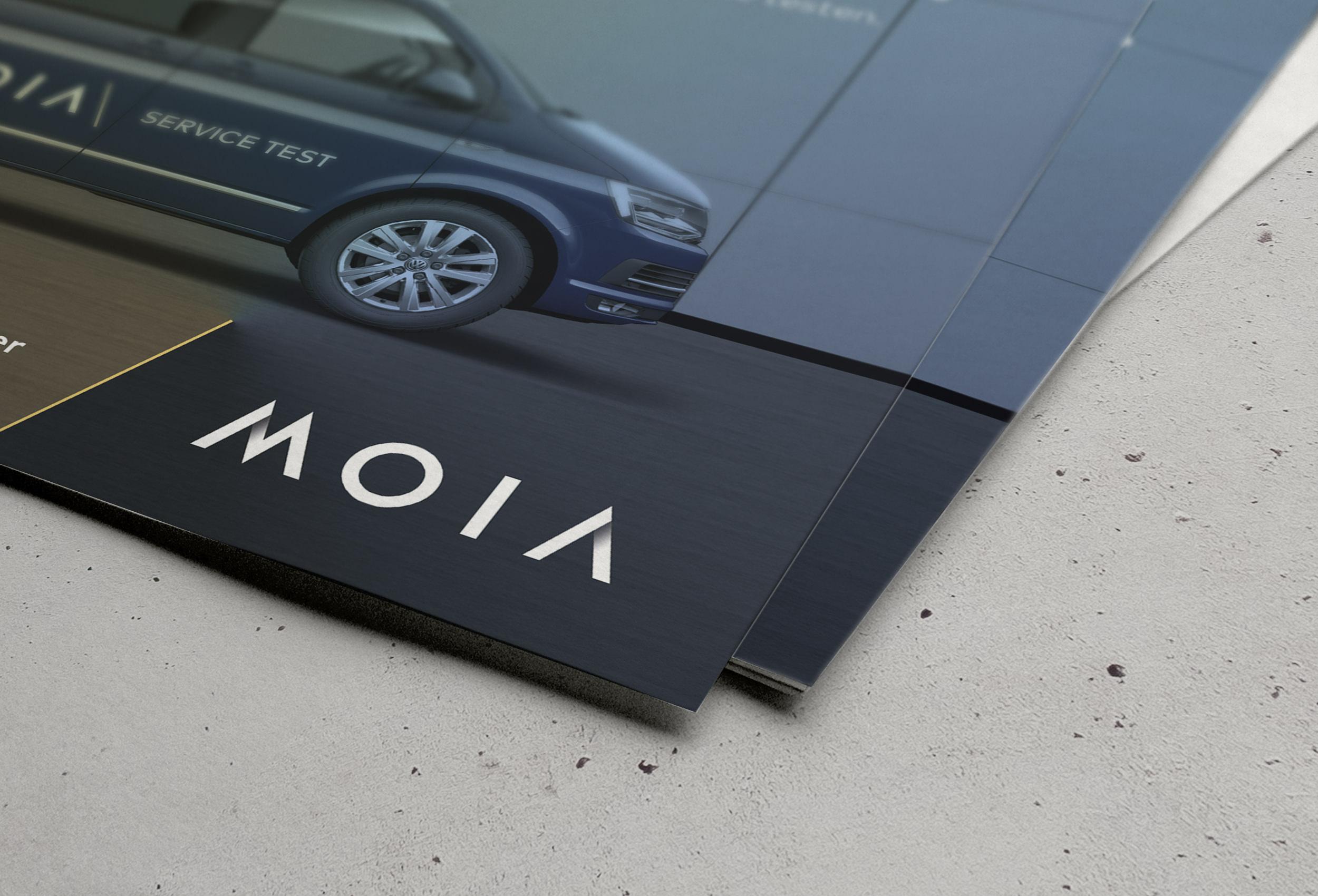 MOIA – Teaser Imageanzeige 18/1-Plakat | Corporate Publishing