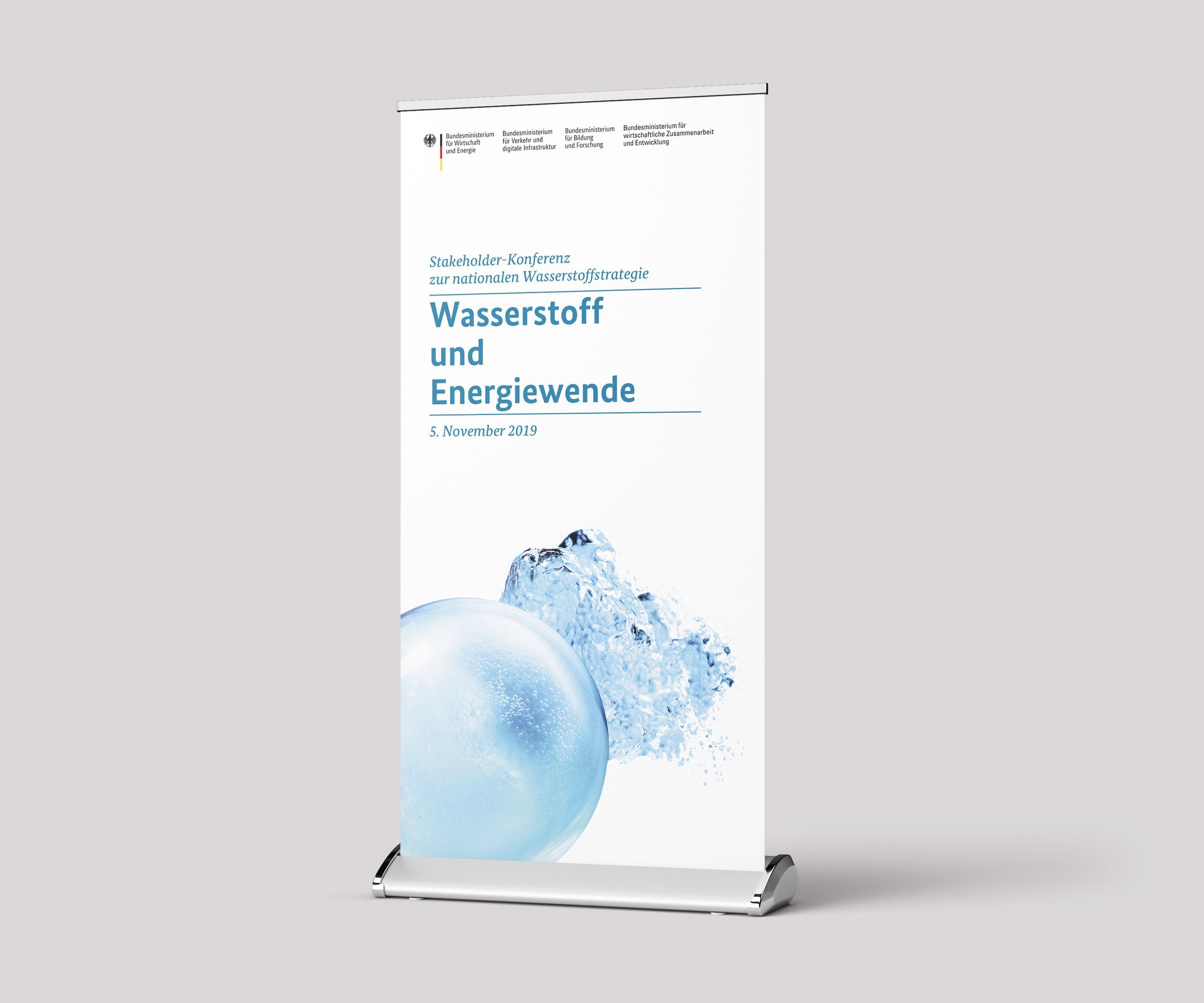 """dena – Rollup auf der Konferenz """"Wasserstoff und Energiewende"""""""