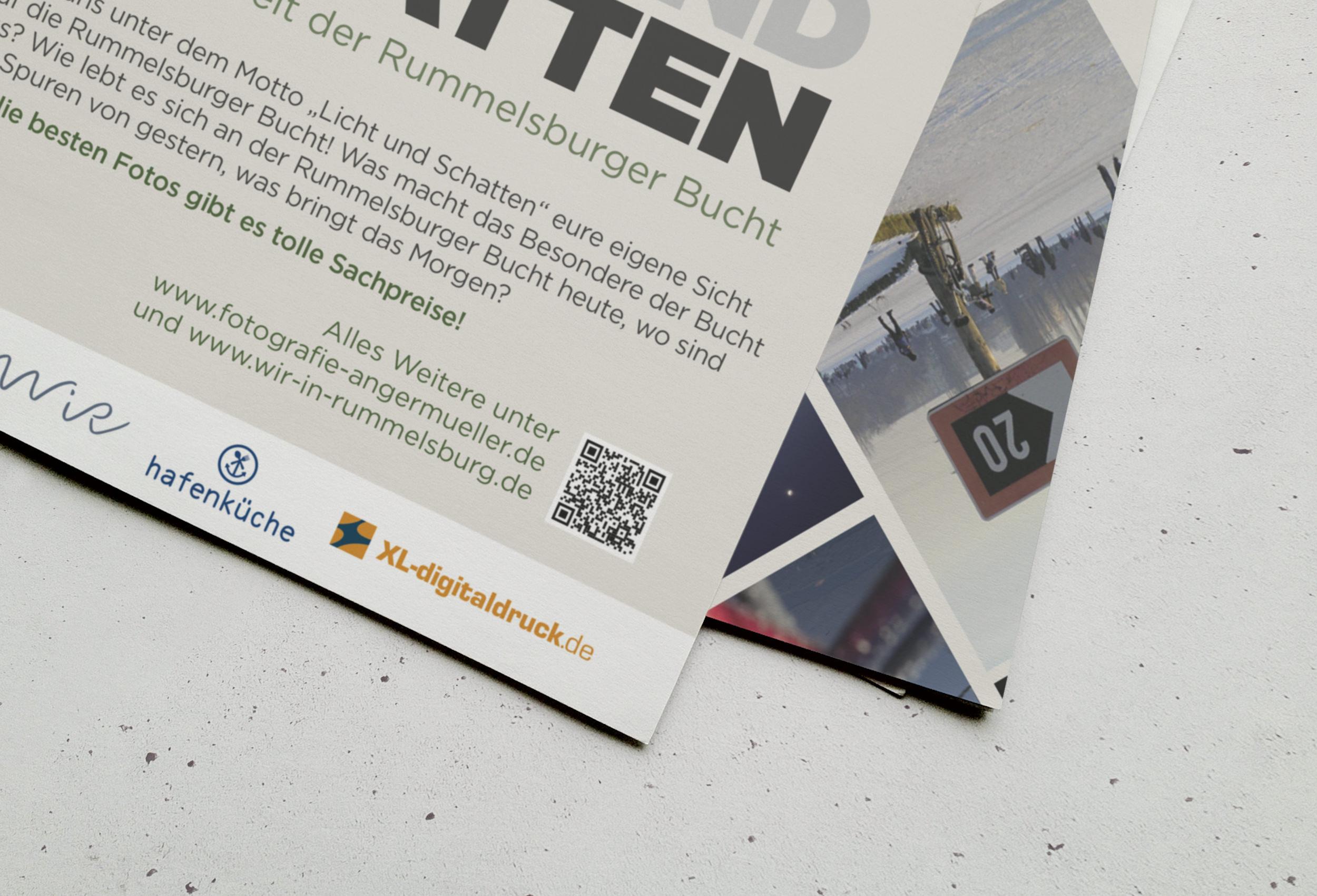 """WiR + Stefan Angermüller   Fotowettbewerb """"Licht und Schatten""""   Plakat"""